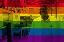 Patrice från Kenya har drastiskt ändrat sin inställning till homosexualitet. Det globala utbytet med andra fackliga gjorde skillnaden..